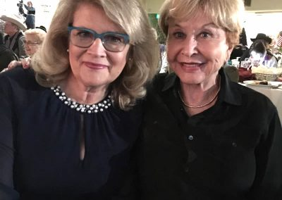 Edie Hand and Michael Learned